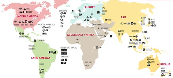 GMA UL map